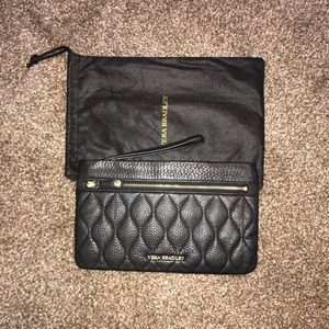 Vera Bradley Leather Wristlet w/ Dust Bag